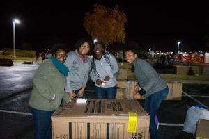 Box city volunteers